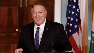 U.S. Secretary of State Mike Pompeo will visit Canada later this week to meet with Prime Minister Justin Trudeau and Foreign Affairs Minister Chrystia Freeland.Secretary of State Mike Pompeo is shown in this Thursday, Aug.15, 2019 file photo.THE CANADIAN PRESS/AP Photo/Carolyn Kaster