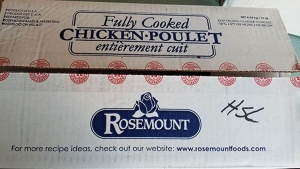 Chicken recalled over listeria