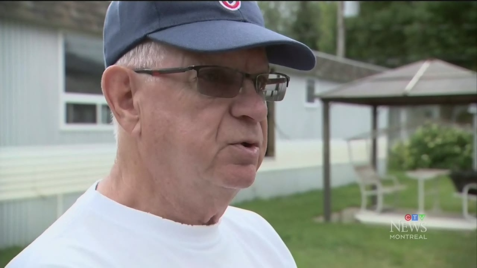 Guy Couture was one of dozens of people who lost his Ste. Marthe sur le Lac home in April