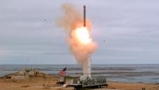 U.S. missile test