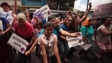 Evelyn Hernandez rally