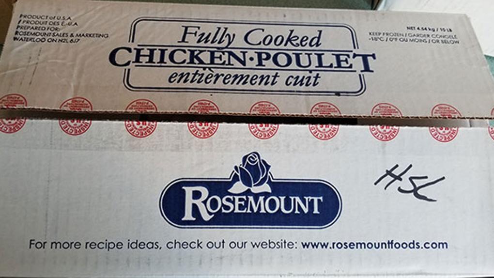 Chicken recall