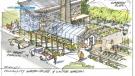 Artist rendering of the community garden for the proposed eco-village in Okotoks (Town of Okotoks)