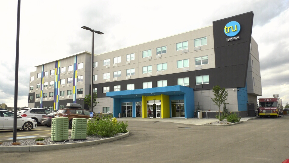 Canada's first TRU by Hilton hotel opened in Edmonton's southwest Windermere community on Aug. 19.