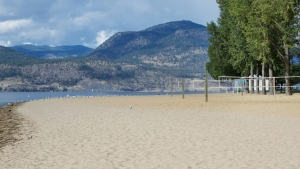 Kelowna City Park beach