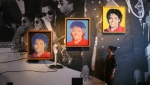 Andy Warhol's 'Michael Jackson' at the June 2018 show at London's National Portrait Gallery. (AFP)