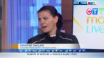 Christine Sinclair spread awareness on MS