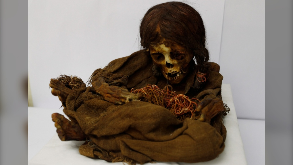 500-year-old mummy back in Bolivia after 129 years abroad
