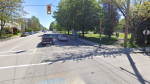 The area of 4th Avenue and Collingwood Street is shown in an image from Google Street View.