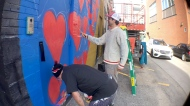 WatchA Beltline urban mural project is transforming the area with giant murals. Kevin Green talks to a few of the artists