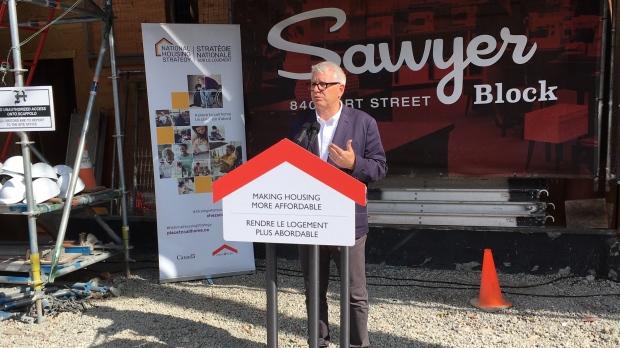 Ottawa announces funding for 60 Victoria micro-suites | CTV News