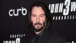 "In this May 9, 2019 file photo, actor Keanu Reeves attends the world premiere of ""John Wick: Chapter 3 - Parabellum"" at One Hanson in New York. (Photo by Evan Agostini/Invision/AP, File)"