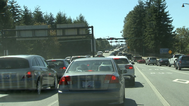 Feds pay North Vancouver to study traffic congestion | CTV News