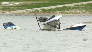 House-built plane crashes into lake