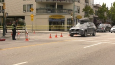 An elderly cyclist was struck in the area of West 4th Avenue and Collingwood Street on Tuesday, Aug. 20, 2019.