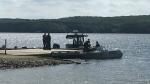 OPP Recovery team on Peninsula Lake