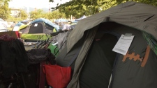 Campers at Oppenheimer Park must leave by 6 a.m. Wednesday, Aug. 20, 2019.