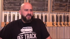 """""""If someone that big in a different country is looking at us and getting upset, then we did something good,"""" said Allan MacKay of Off Track Brewing."""