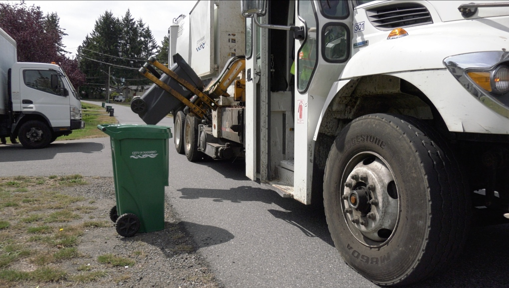 Nanaimo's growth leads to delays in garbage collection