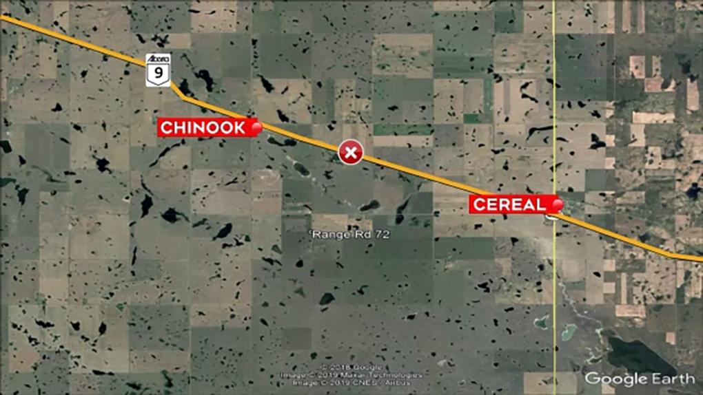Alberta multi-vehicle collision leaves one dead, several injured