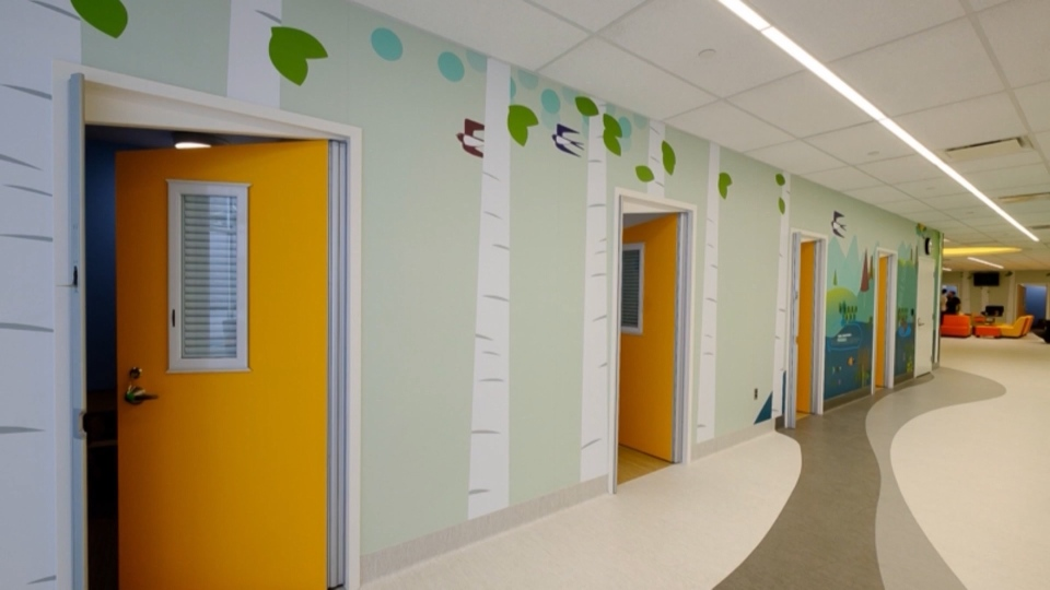 The Child and Adolescent Psychiatric Stabilization Unit at Surrey Memorial Hospital was specifically designed not to resemble a hospital.