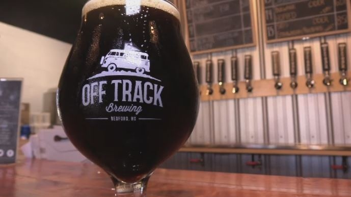 "This peanut butter stout will no longer be called ""Damn Skippy"" after Off Track Brewing received a cease-and-desist letter."