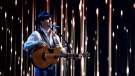 George Canyon performs during the Canadian Country Music Awards in Edmonton, Alberta on September 8, 2013.  (THE CANADIAN PRESS/Jason Franson)