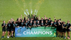 Women is to be dropped from the title of the next Rugby World Cup in 2021 in New Zealand (AFP).