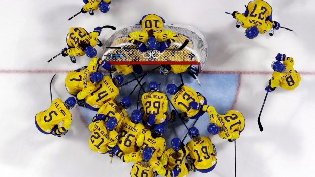 Sweden players