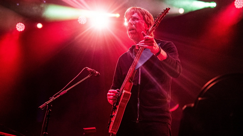 Trey Anastasio of Phish performs at the Bonnaroo Music and Arts Festival on Friday, June 14, 2019, in Manchester, Tenn. (Photo by Amy Harris/Invision/AP)