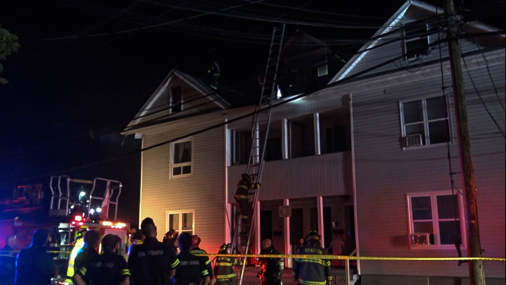 Tenants displaced by fire at Moncton rooming house