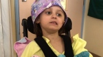Young Kitchener girl back in critical care
