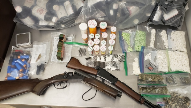 Angus guns and drugs seizure