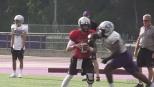 Western Mustangs pre-season camp