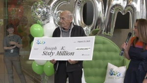 Record-breaking $60M lotto winner revealed