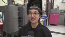 Dozen women take welding course near Kincardine