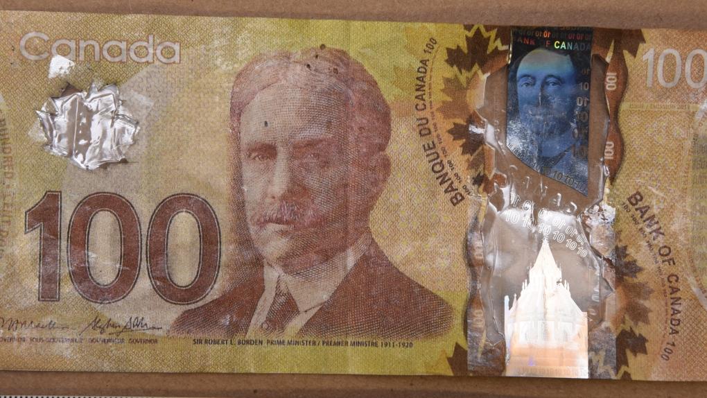Fake $100 bills circulating in Saanich