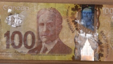 Anyone who receives a counterfeit bill is asked to put it in an envelope and call police. (Saanich police)