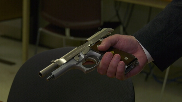 Since July 1, Toronto police have seized 56 guns that were used in a crime. (CTV News Toronto)
