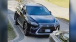 A 2016 Lexus RX 350 SUV is seen in this photograph.
