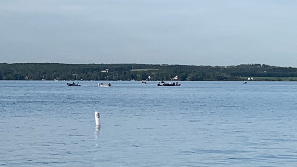 Search continues for man who fell off inner tube in Sylvan Lake