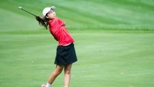 Twelve year-old Canadian Michelle Liu