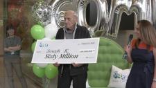 $60 million jackpot winner