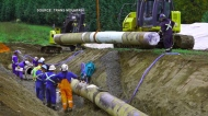 TMX pipeline construction to start up again