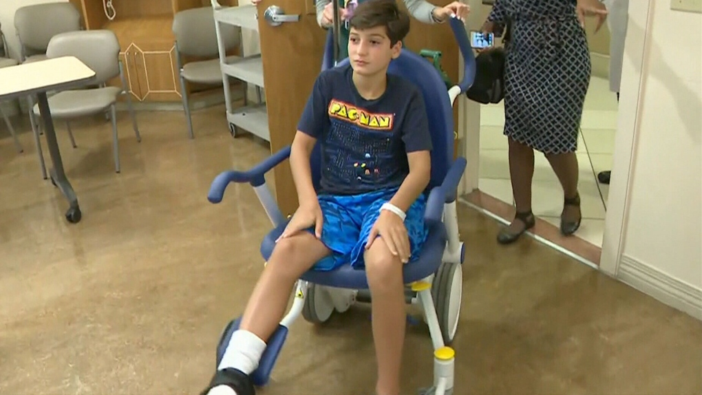 Fort Lauderdale shark attack: 11-year-old Ont. boy shares story of shark bite