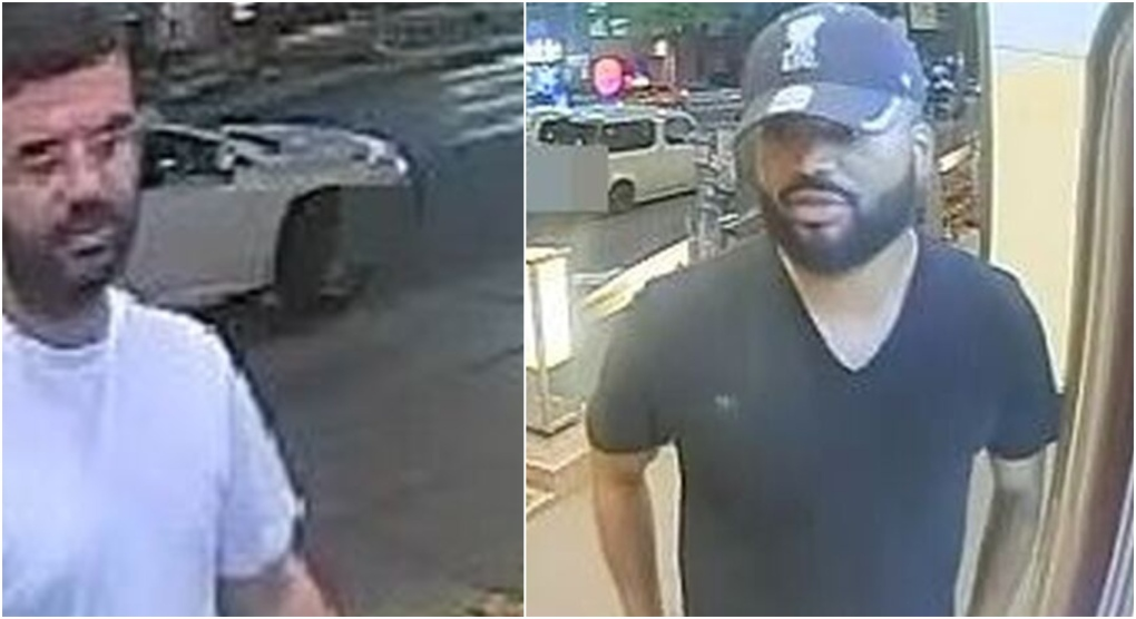New photos released of men accused of pizza delivery scam