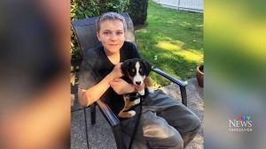 14-year-old Carson Crimeni
