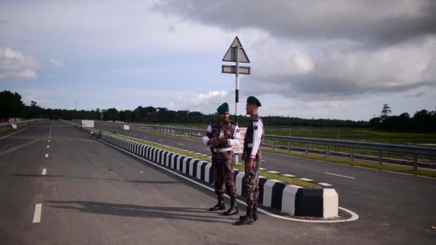 Bangladesh Myanmar border
