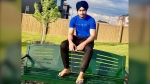 Friends and family have identified Palwinder Singh, 21, as the man missing following a tubing incident in Sylvan Lake (supplied)