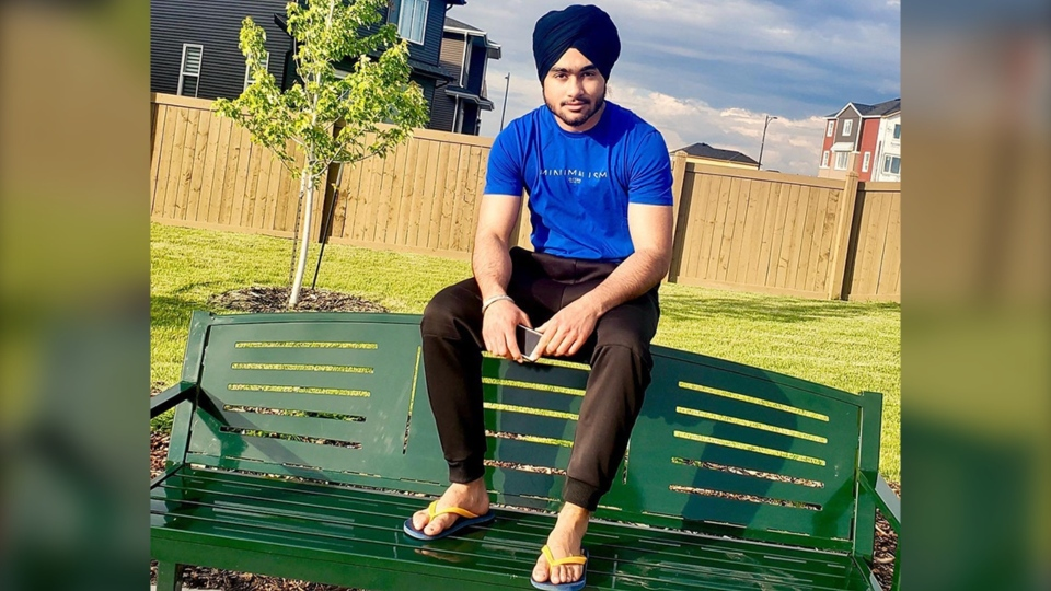 Police and friends have identified Palwinder Singh of Edmonton as the man missing following a tubing incident on Sylvan Lake.
